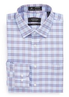 Nordstrom Men's Shop Smartcare™ Trim Fit Wrinkle Free Plaid Dress Shirt