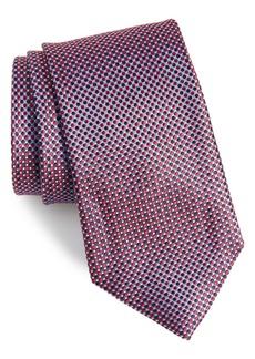 Nordstrom Men's Shop Soler Solid Silk X-Long Tie