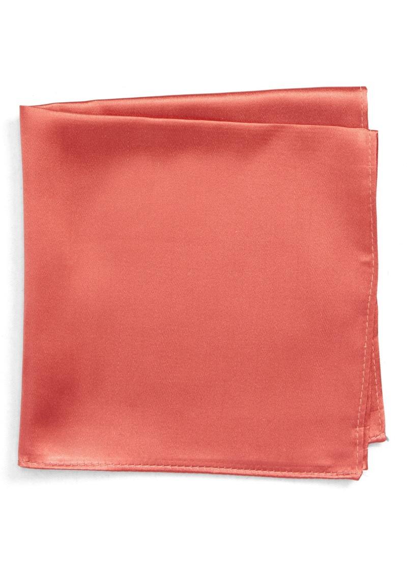 Nordstrom Men's Shop Solid Silk Pocket Square