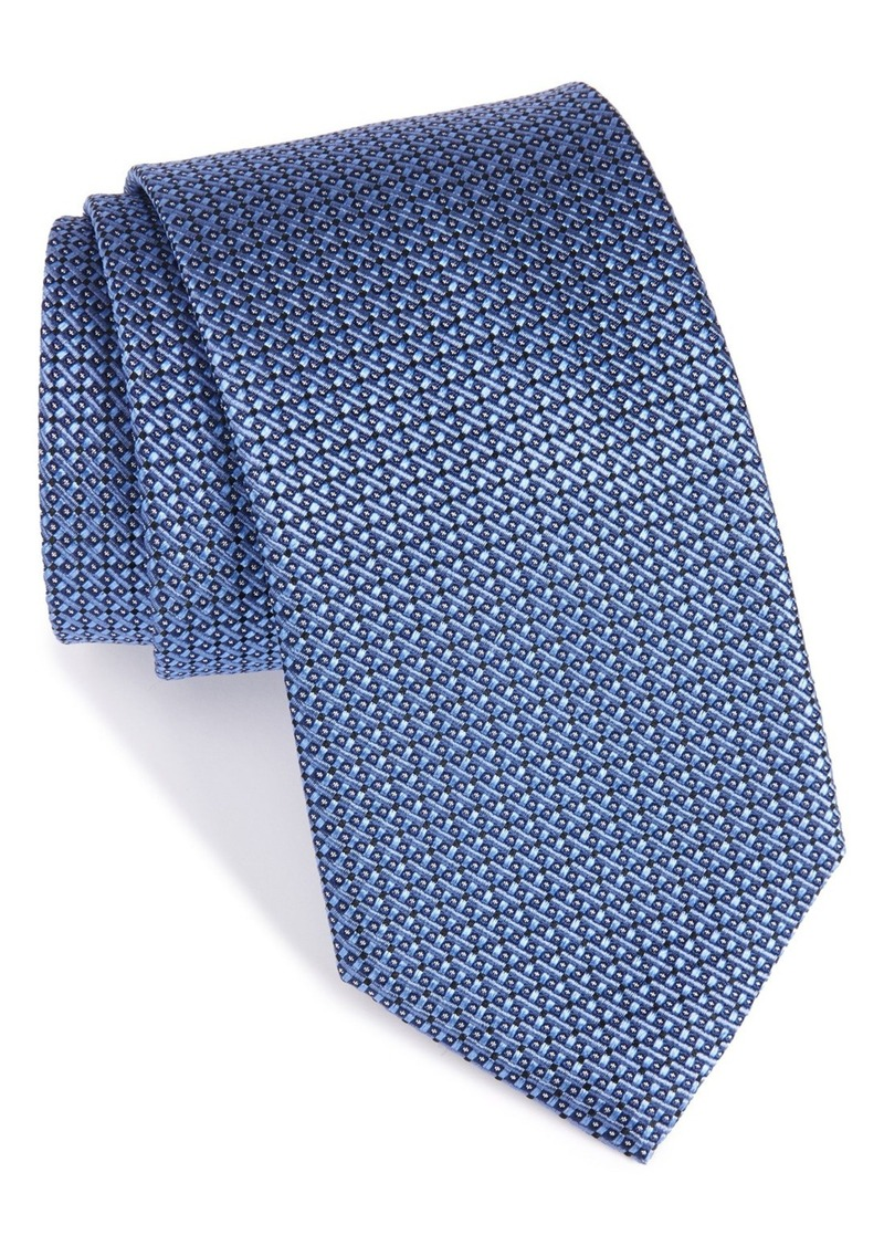 Nordstrom Men's Shop Solid Silk Tie (X-Long)