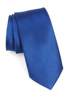 Nordstrom Men's Shop Solid Silk X-Long Tie