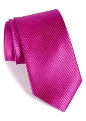 Nordstrom Men's Shop Solid Textured Silk Tie