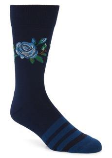 Nordstrom Men's Shop Statement Floral Socks (3 for $30)
