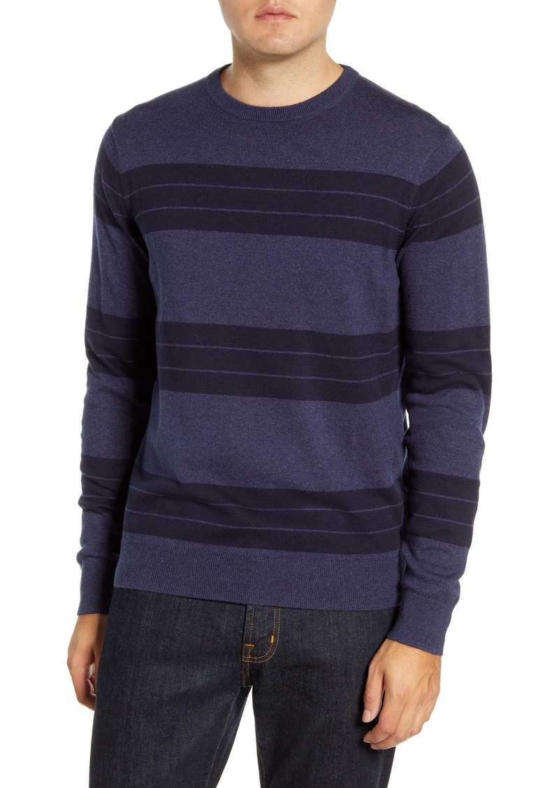 Nordstrom Men's Shop Stripe Crewneck Sweater