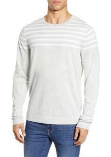 Nordstrom Men's Shop Stripe Crewneck Sweater