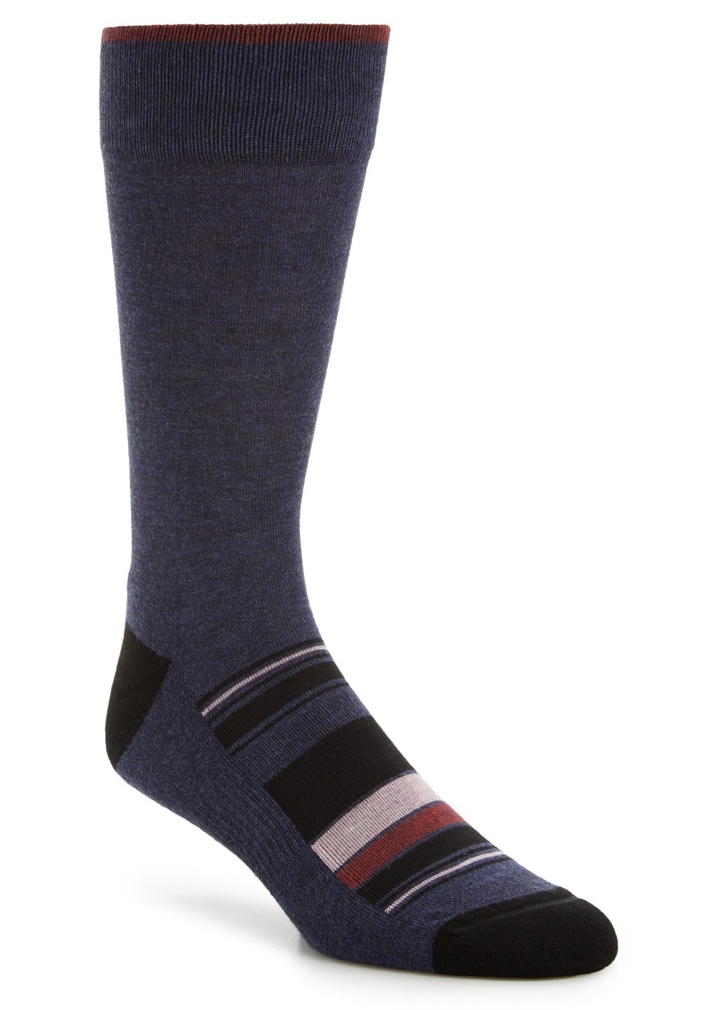 Nordstrom Men's Shop Stripe Socks (3 for $30)