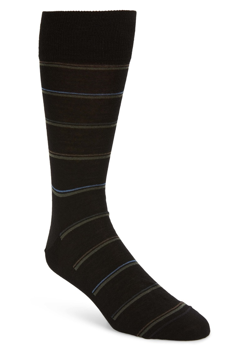 Nordstrom Signature Stripe Socks (Any 3 for $40)