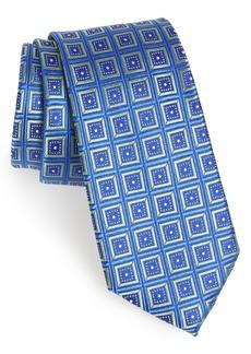Nordstrom Men's Shop Sublime Squares Geometric Silk Tie