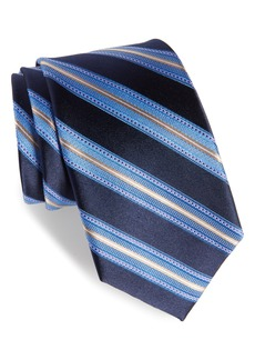Nordstrom Men's Shop Sunshine Stripe Silk Tie