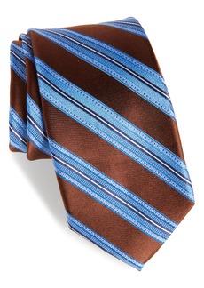 Nordstrom Men's Shop Sunshine Stripe Silk Tie