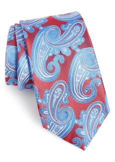 Nordstrom Men's Shop Swanee Paisley Silk X-Long Tie