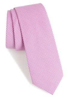 Nordstrom Men's Shop Sydney Check Cotton Skinny Tie