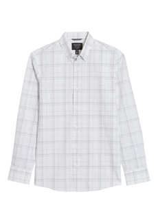 Nordstrom Tech-Smart CoolMax® Plaid Performance Button-Up Shirt