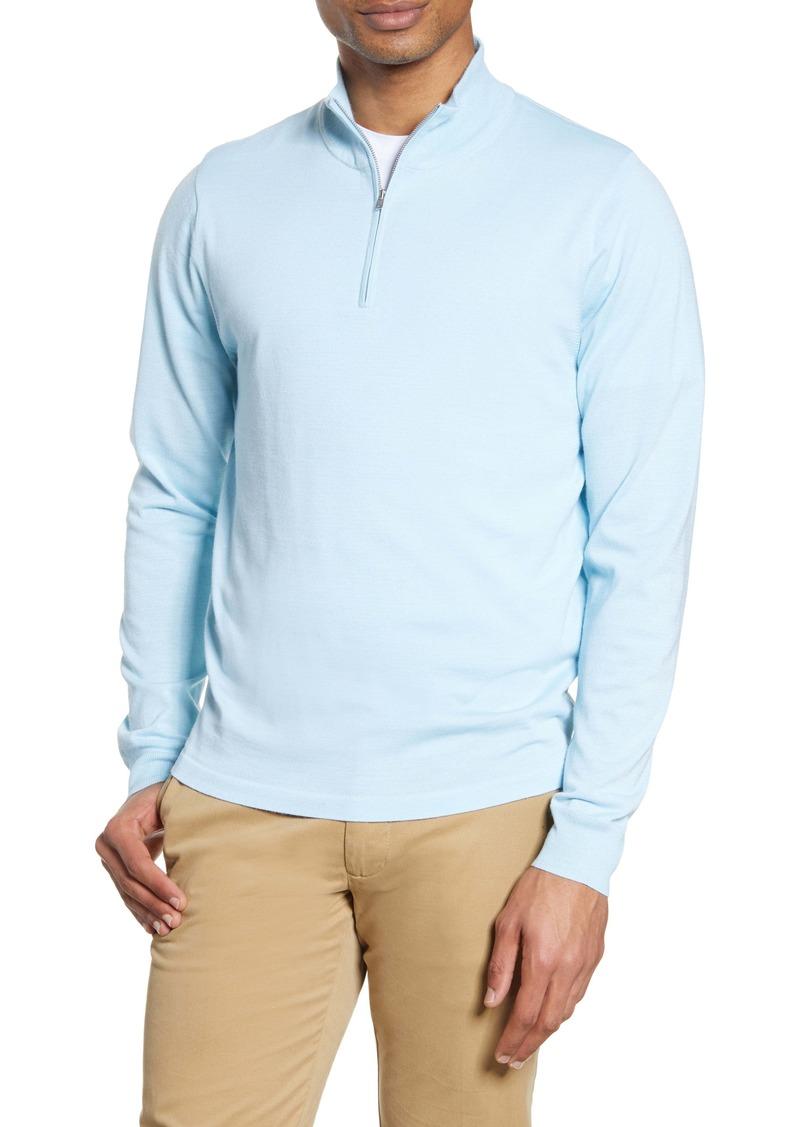 Nordstrom Men's Shop Tech-Smart CoolMax® Quarter Zip Pullover