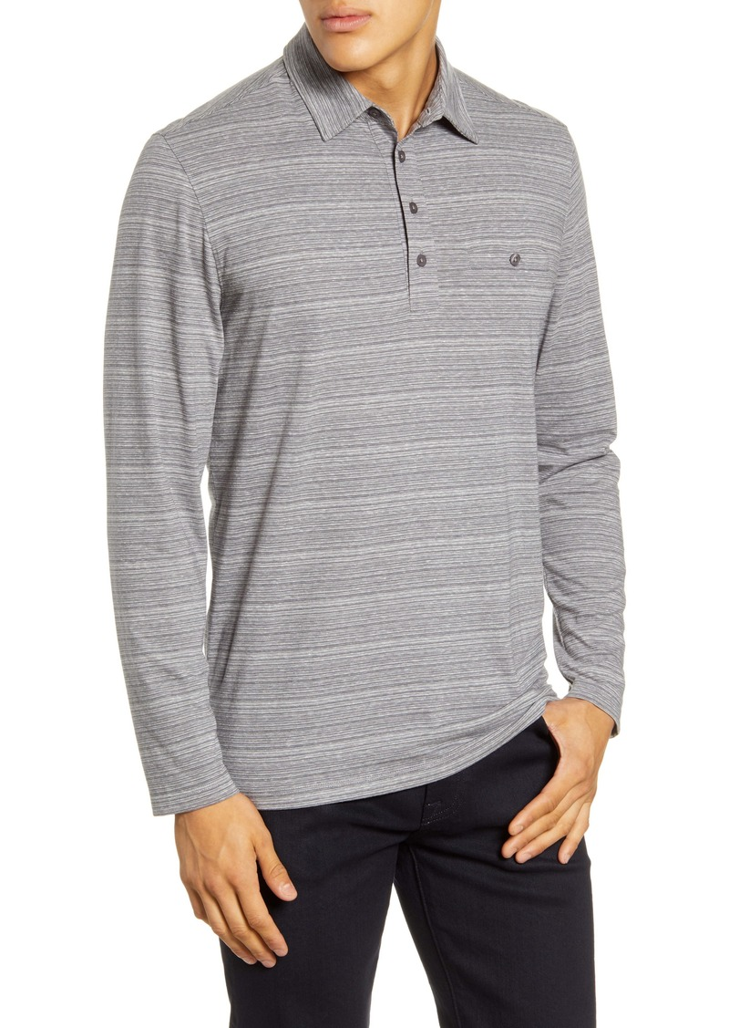 Nordstrom Men's Shop Tech-Smart Long Sleeve Pocket Polo