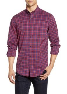 Nordstrom Men's Shop Tech-Smart Regular Fit Check Button-Down Sport Shirt
