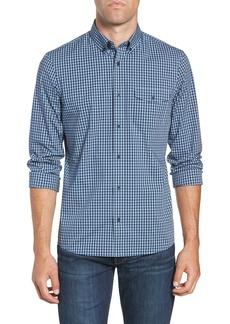Nordstrom Men's Shop Tech-Smart Slim Fit Check Sport Shirt