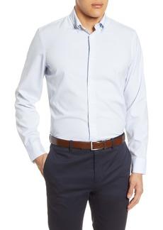 Nordstrom Men's Shop Tech-Smart Trim Fit Button-Down Shirt