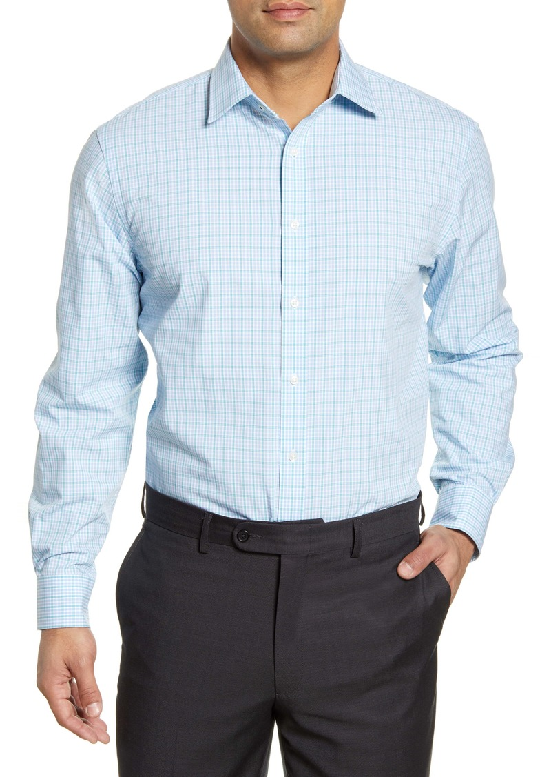 Nordstrom Men's Shop Tech-Smart Traditional Fit Check Dress Shirt