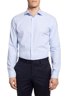 Nordstrom Men's Shop Tech-Smart Trim Fit Print Dress Shirt