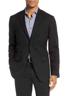 Nordstrom Men's Shop Tech-Smart Trim Fit Stretch Wool Travel Sport Coat