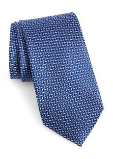 Nordstrom Men's Shop Torri Herringbone Silk Tie