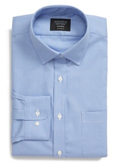 Nordstrom Men's Shop Traditional Fit Non-Iron Basket Weave Dress Shirt