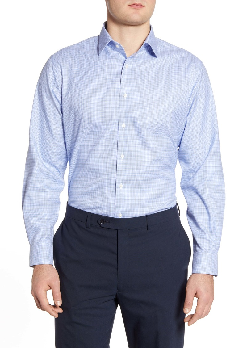 Nordstrom Men's Shop Traditional Fit Non-Iron Dot Dress Shirt