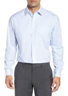 Nordstrom Men's Shop Traditional Fit Non-Iron Stripe Dress Shirt