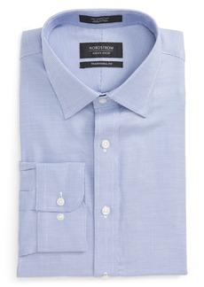 Nordstrom Men's Shop Traditional Fit Solid Dress Shirt