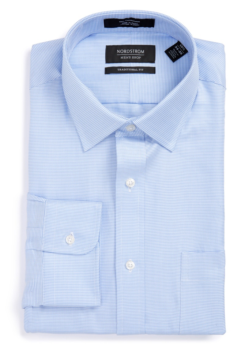 Nordstrom Nordstrom Menu0026#39;s Shop Traditional Fit Textured Dress Shirt | Dress Shirts