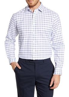 Nordstrom Men's Shop Traditional Fit Windowpane Dress Shirt