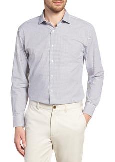 Nordstrom Men's Shop Trim Fit Check Dress Shirt