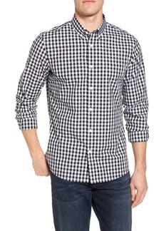 Nordstrom Men's Shop Trim Fit Check Sport Shirt