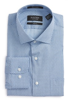 Nordstrom Men's Shop Trim Fit Geometric Dress Shirt