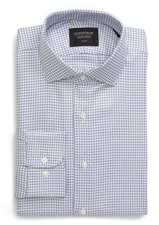 Nordstrom Men's Shop Trim Fit Houndstooth Dress Shirt