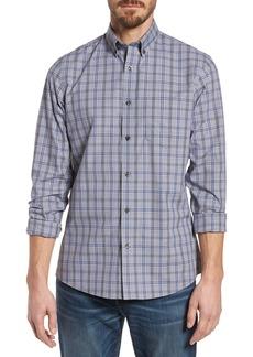 Nordstrom Men's Shop Trim Fit Non-Iron Check Sport Shirt