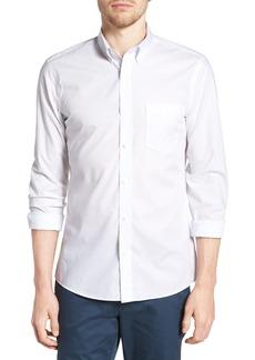 Nordstrom Men's Shop Trim Fit Non-Iron Sport Shirt