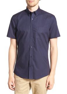 Nordstrom Men's Shop Trim Fit Print Sport Shirt