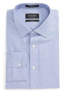 Nordstrom Men's Shop Trim Fit Solid Dress Shirt
