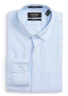 Nordstrom Men's Shop Trim Fit Solid Oxford Dress Shirt