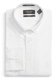 Nordstrom Men's Shop Trim Fit Solid Oxford Dress Shirt