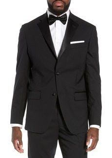 Nordstrom Men's Shop Trim Fit Stretch Wool Dinner Jacket