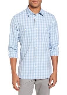 Nordstrom Men's Shop Trim Fit Washed Check Workwear Shirt