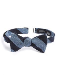 Nordstrom Men's Shop Tusk Stripe Silk & Wool Bow Tie