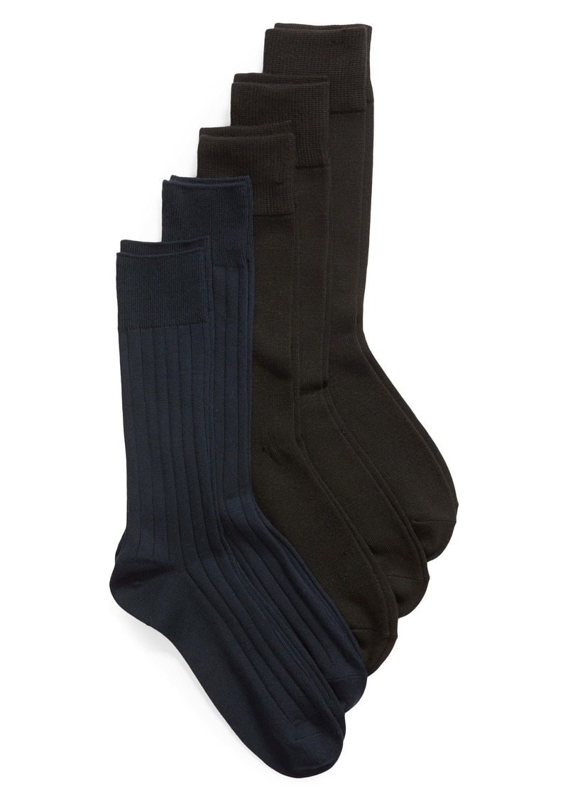 Nordstrom Men's Shop Ultra Soft 5-Pack Socks