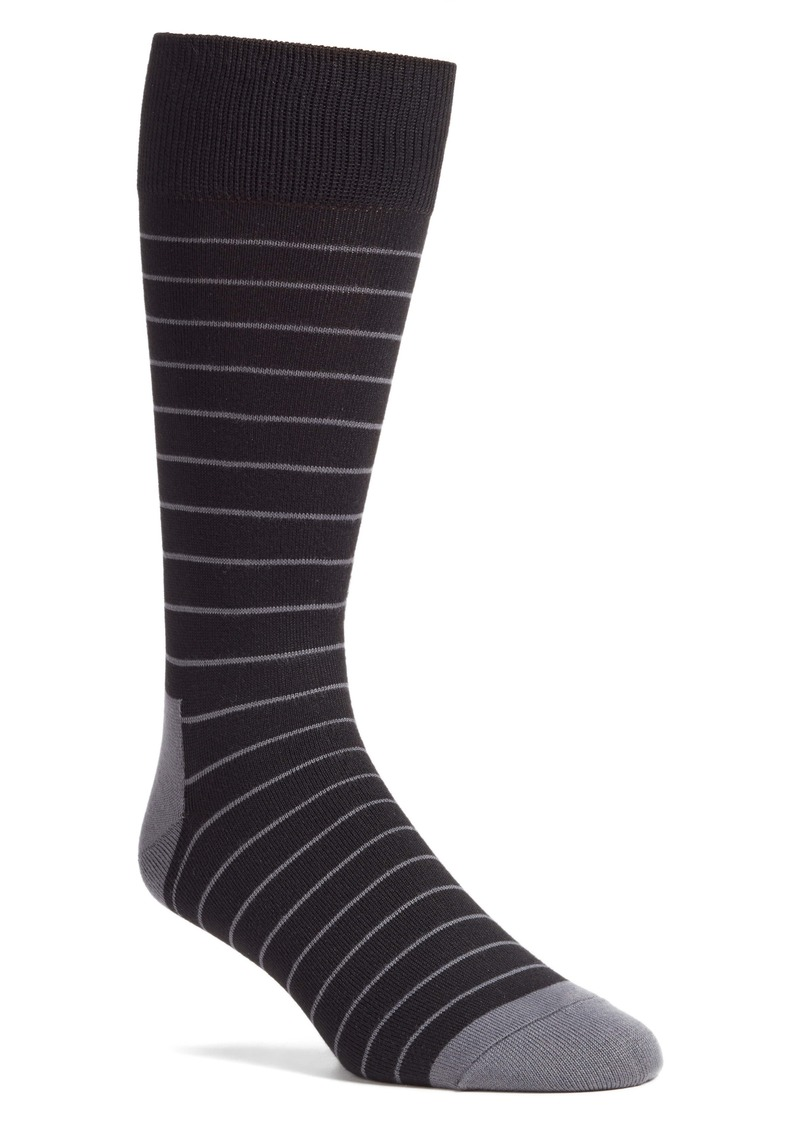 Nordstrom Men's Shop Ultra Soft Stripe Socks (Any 3 for $30)