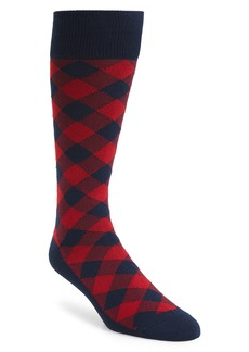 Nordstrom Men's Shop Ultrasoft Buffalo Check Socks