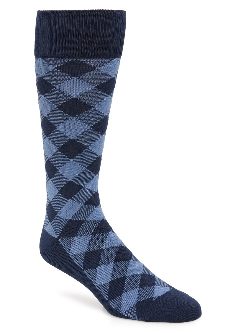 Nordstrom Men's Shop Ultrasoft Buffalo Check Socks (3 for $30)