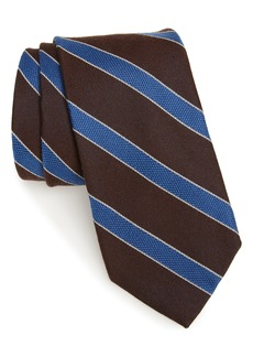 Nordstrom Men's Shop Urbina Stripe Wool & Silk Tie